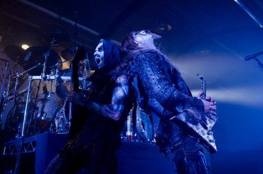 Behemoth, Nergal and Seth back to back, MacEwan Hall Ballroom