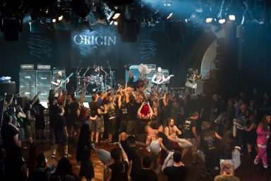 Origin pillow fight on 70000 tons of metal, cruise ship