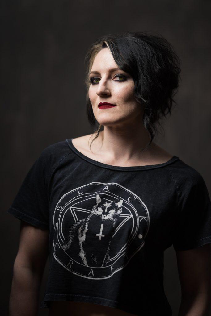 Self portrait of Monika Deviat, creator of Deviant Optiks Photography