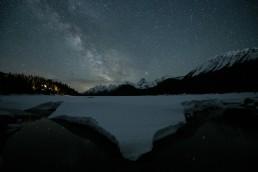Milky Way photo before editing
