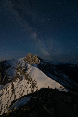 Composition of night image